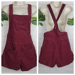 H&M Divided corduroy romper shorts size 6